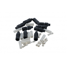 CONNECTOR KIT, MALE, RIBBED SHELL