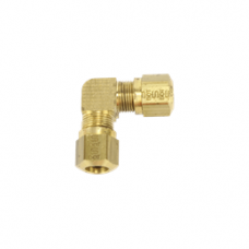 90 DEGREE UNION ELBOW BRASS COMPRESSION FITTING