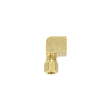 90 DEGREE FEMALE ELBOW BRASS COMPRESSION FITTING