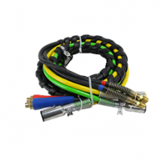 4 IN 1 AIR/ELECTRIC HOSE KIT - 15'
