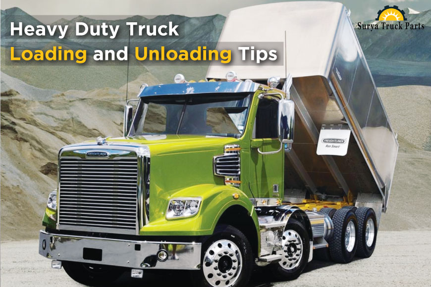 Heavy Duty Truck Loading and Unloading Tips